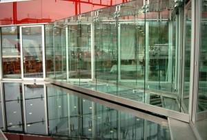 Begehbares Glas im XX-Haus Hamburg
