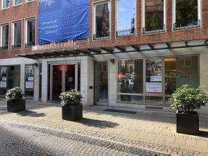 Glasfassade Handelskammer Bremen