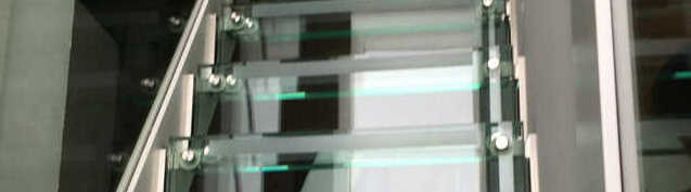 Glastreppe